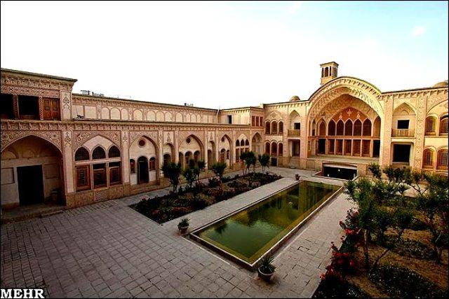 in matn - هتل عامری کاشان