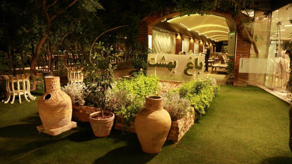 bagh5 1024x576 - مجموعه باغ رستوران بهشت فین کاشان